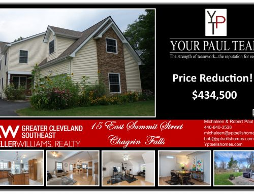 Price Reduction!! 15 East Summit Street – Chagrin Falls!