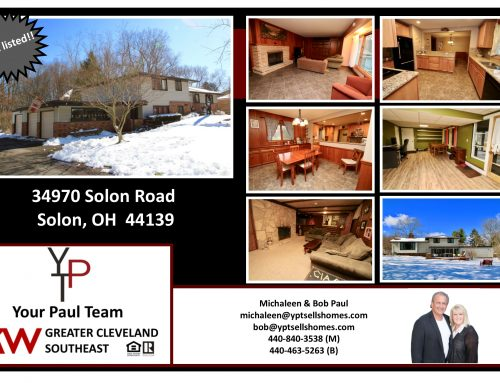 Just Listed!  34970 Solon Road – Solon