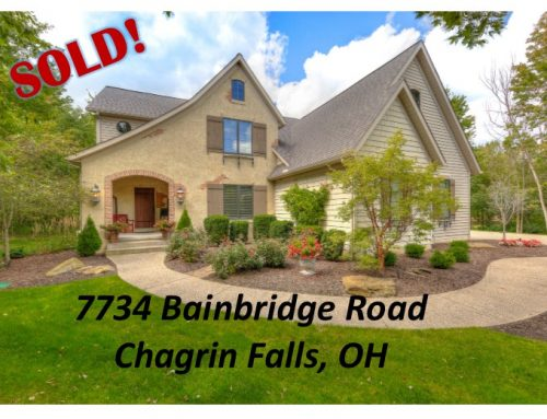 SOLD! 7734 Bainbridge Road- Chagrin