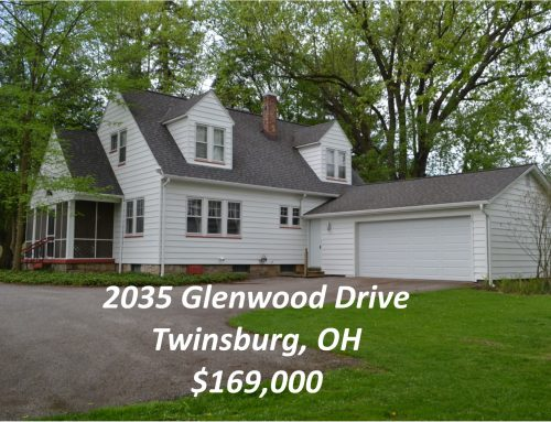 Just Listed! 2035 Glenwood Drive – Twinsburg