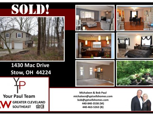 SOLD!  1430 Mac Drive, Stow