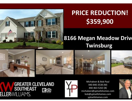 Price Reduction!  8166 Megan Meadow-Twinsburg