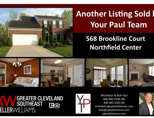 Another Listing Sold by Your Paul Team!! 568 Brookline Court