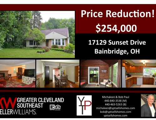 Price Reduction – 17129 Sunset Drive- Bainbridge