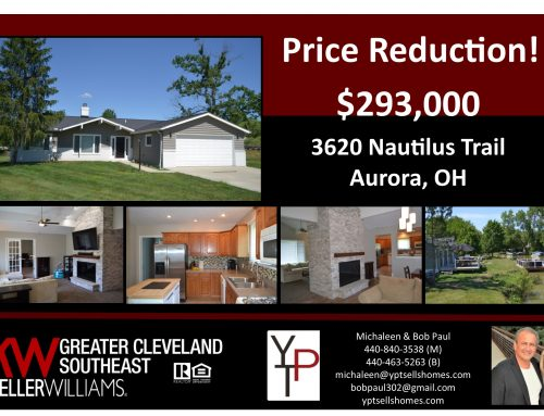 Price Reduction! – 3620 Nautilus Trail – $293,000!!