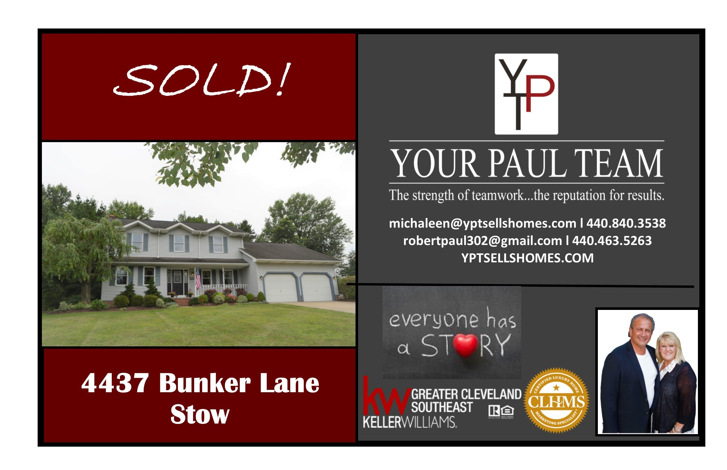 Another Listing SOLD! By YPT! – 4437 Bunker Lane