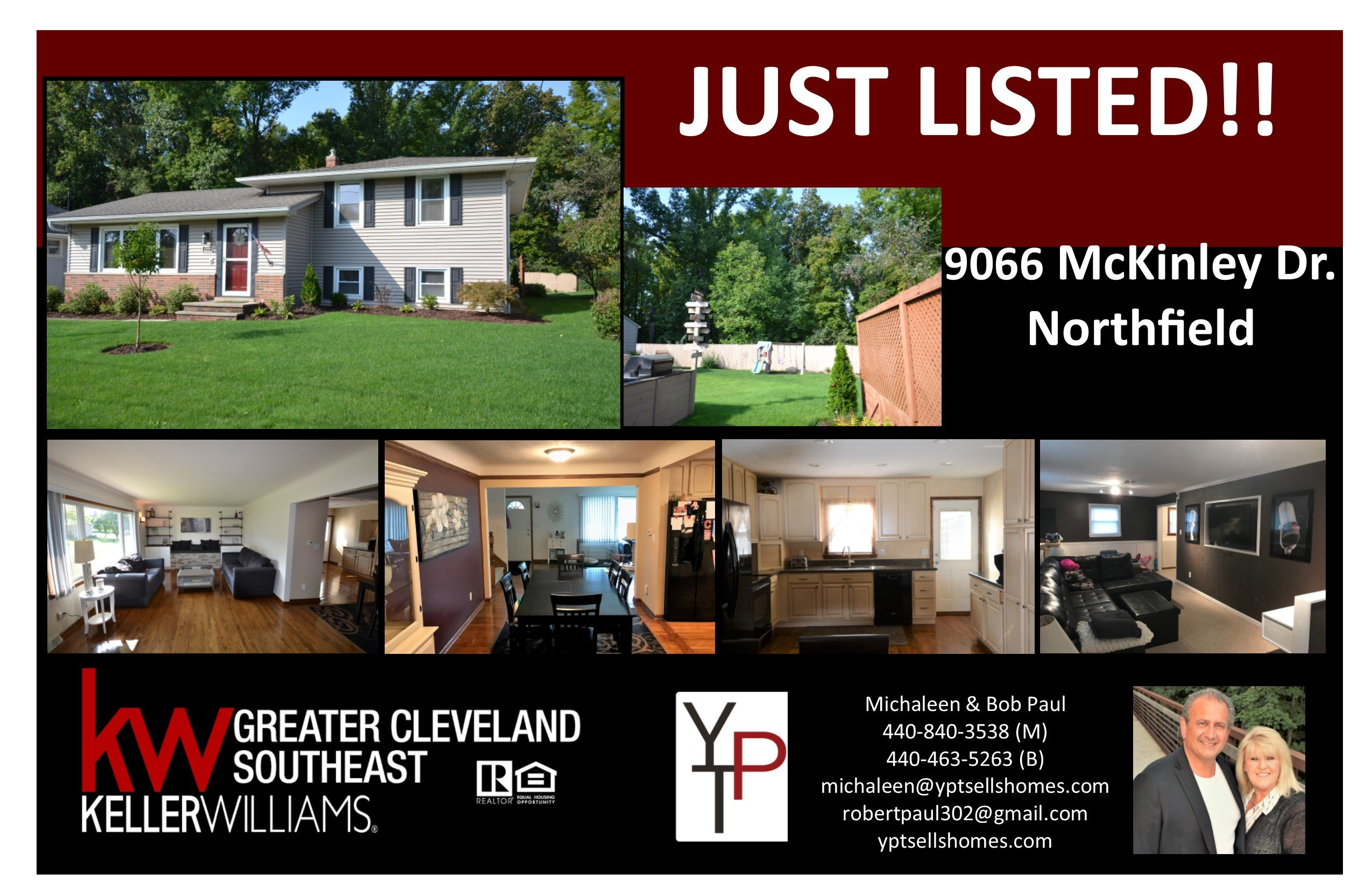 Just Listed!! 9066 McKinley Drive – Northfield