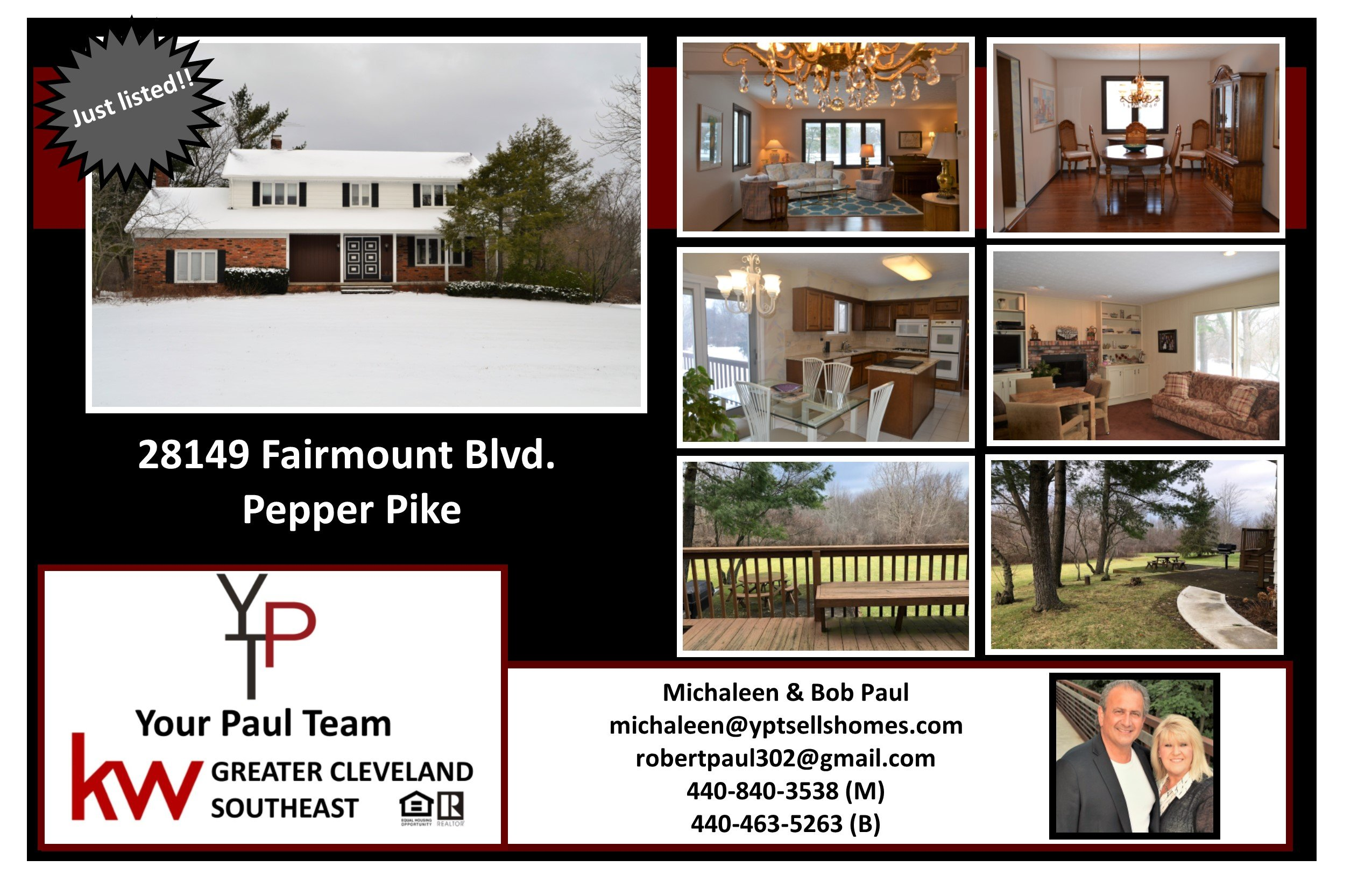 New Listing in Pepper Pike!!