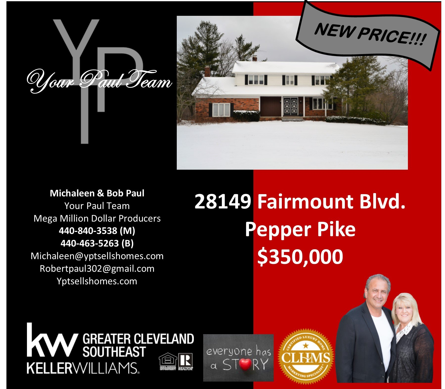 Amazing Price Reduction in Pepper Pike!!