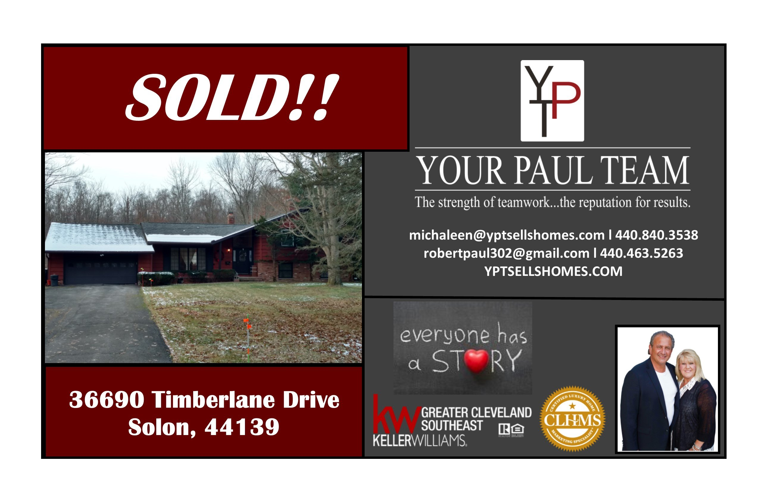 SOLD!!! – 36690 Timberlane Drive, Solon