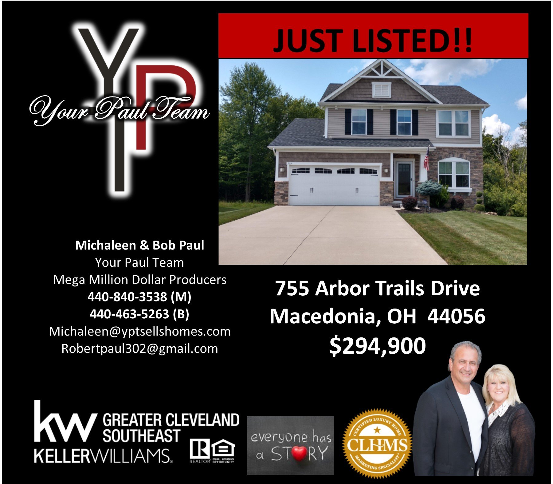 Just Listed! 755 Arbor Trails Drive – Macedonia