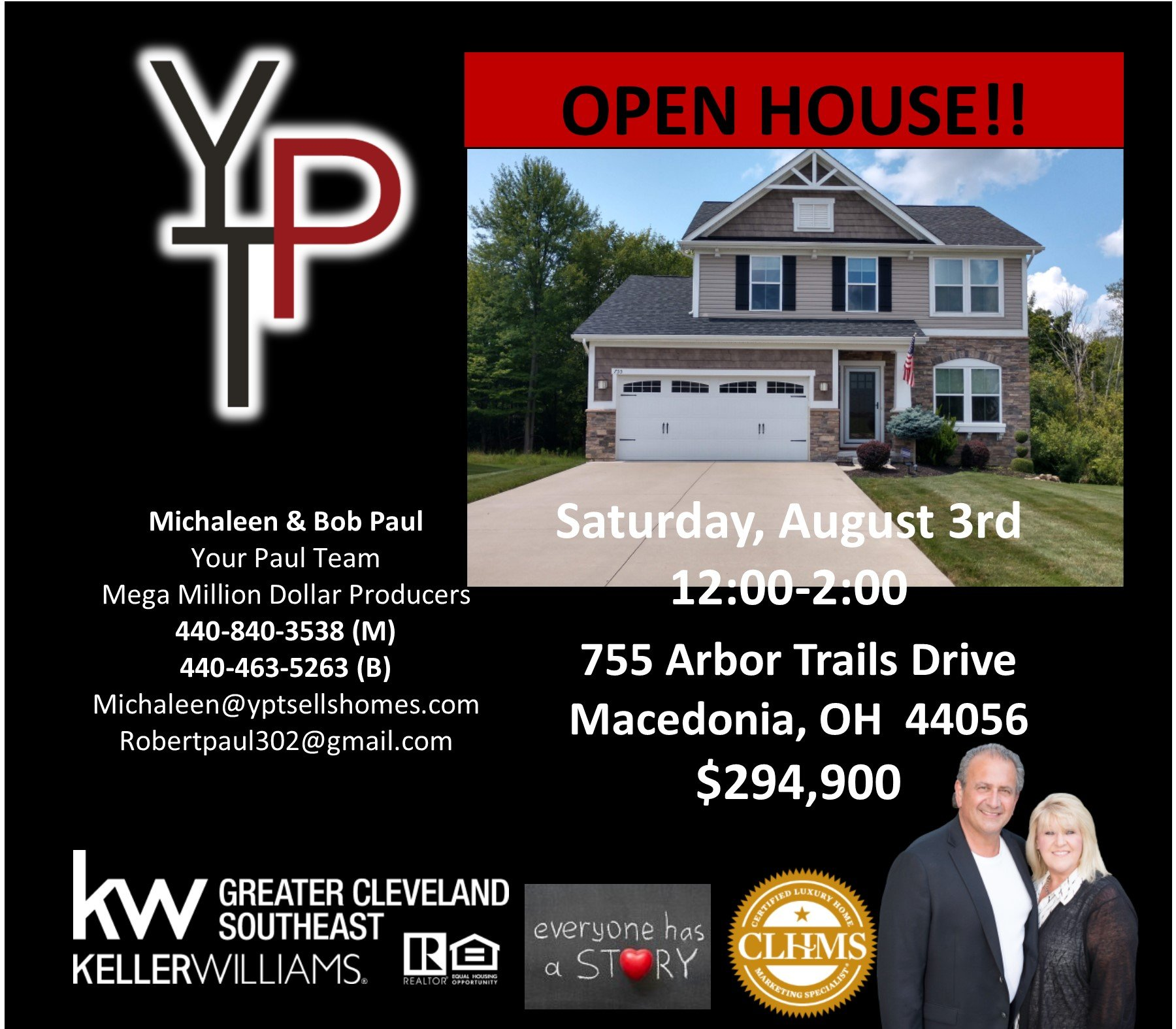 Open House this Saturday in Macedonia!