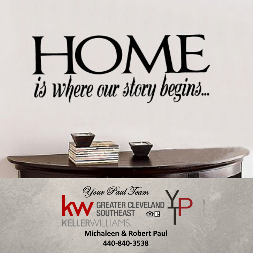 Home is where our story begins…