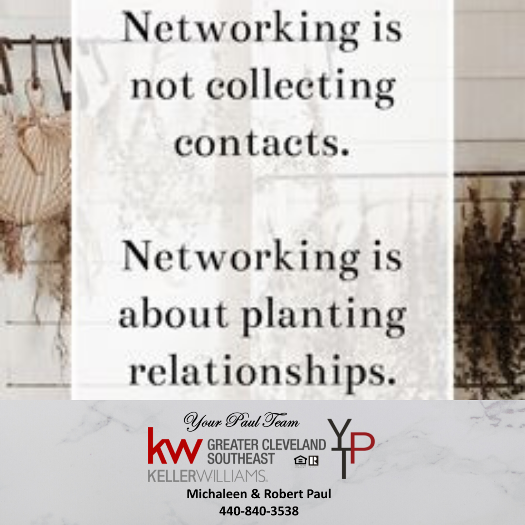 Networking is About Planting Relationships