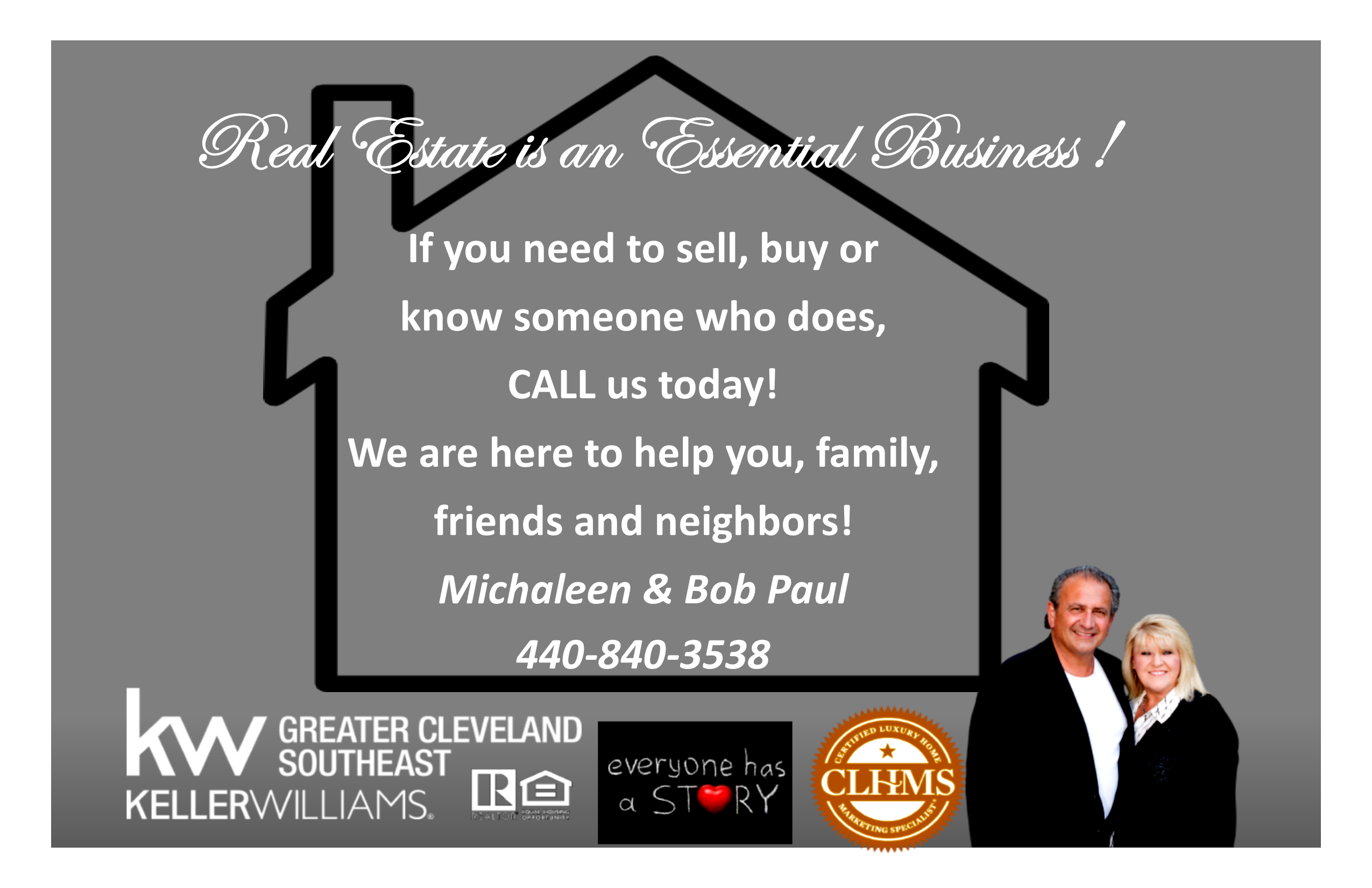 Real Estate is an Essential Business!