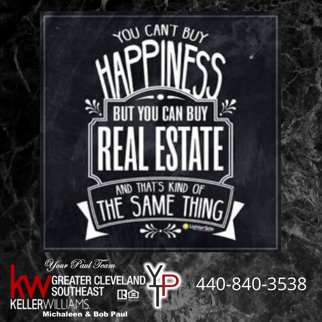 Can Real Estate Buy You Happiness??