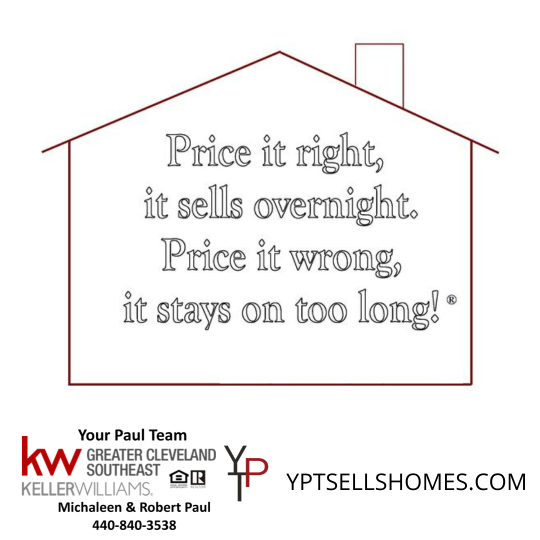 It's Important To Price Your Home RIGHT!