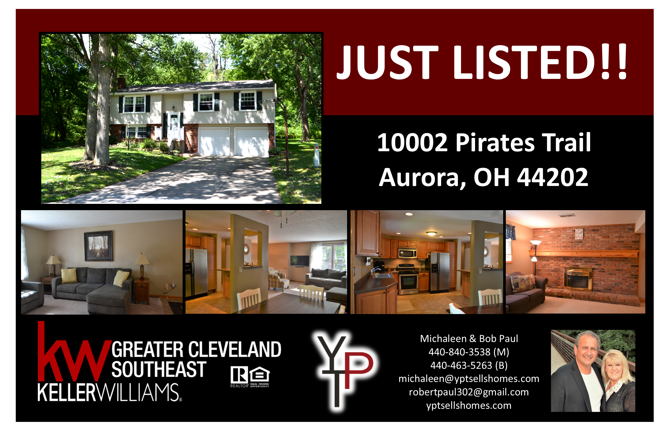 Just Listed!  10002 Pirates Trail – Aurora