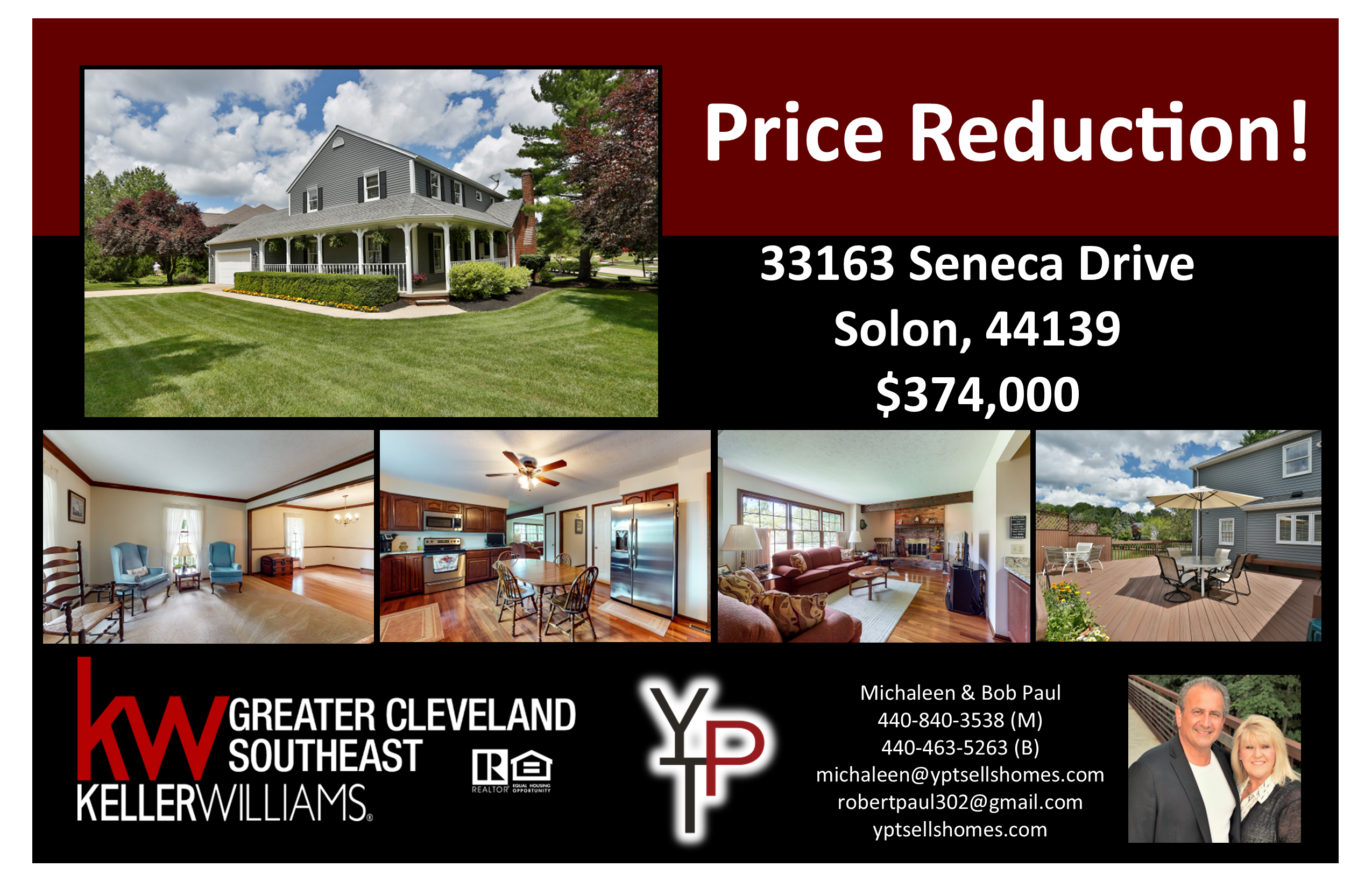 Price Reduction!! ~ 33163 Seneca Drive, Solon
