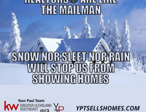 It's Never A Snow Day For A Realtor!
