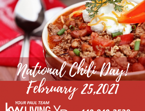 National Chili Day!