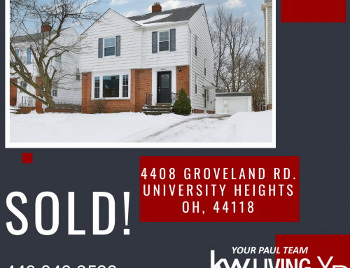 Another Listing SOLD By Your Paul Team!! 4408 Groveland Road ~ University Heights