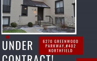6270 Greenwood Parkway,Northfield Condo Under Contract!
