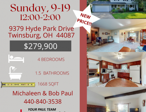 Open House this Sunday, 9/19/21!