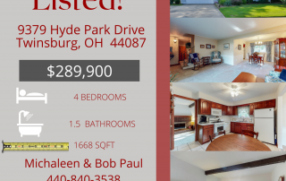 Just Listed! 9379 Hyde Park