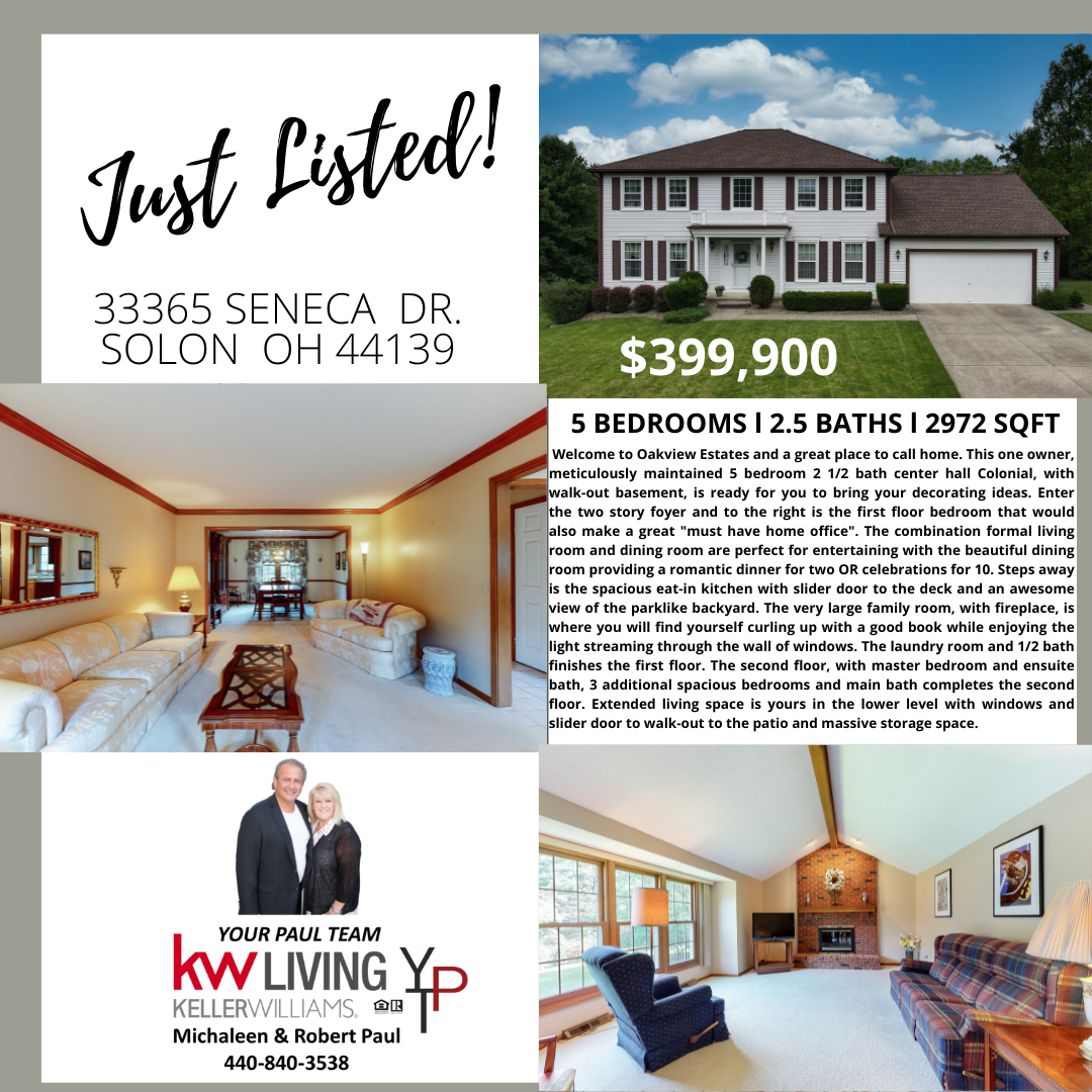 Just Listed in Solon!