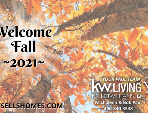 Welcome Fall 2021…