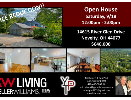 Open House this Saturday, 9/18/21!